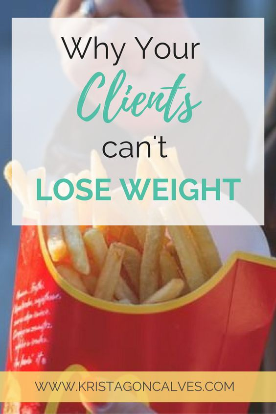 5 Reasons Why Health Coaching Clients Can't Lose Weight