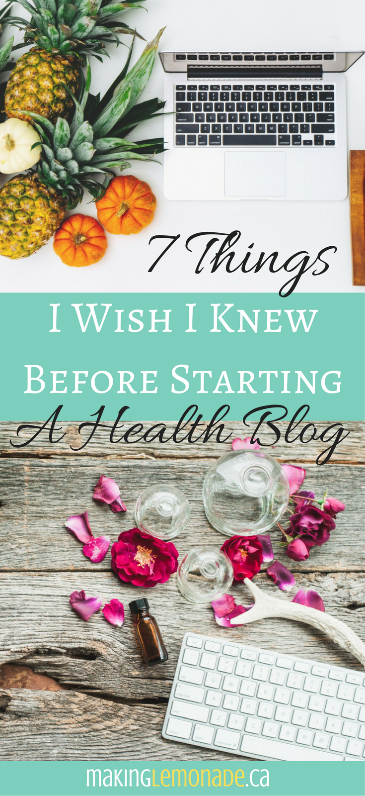 7 things I wish I knew before starting a health blog
