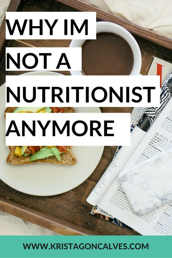 Why I'm Not a Nutritionist Anymore | Making Lemonade with Krista Goncalves, RNC