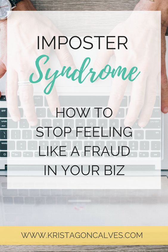 Imposter Syndrome - How to Stop Feeling Like a Fraud in your Business