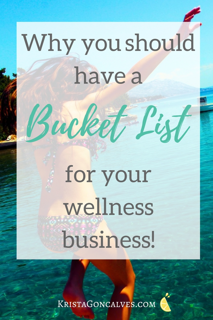 Why you should have a business entrepreneur's bucket list