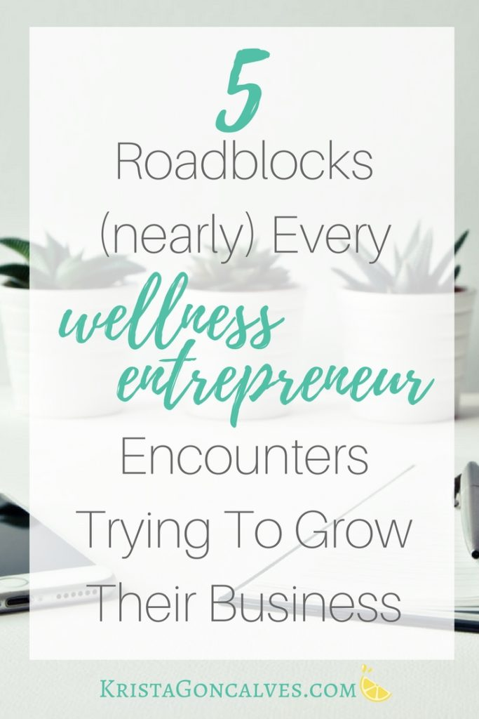 Common Problems Wellness Entrepreneurs Have Growing Their Business