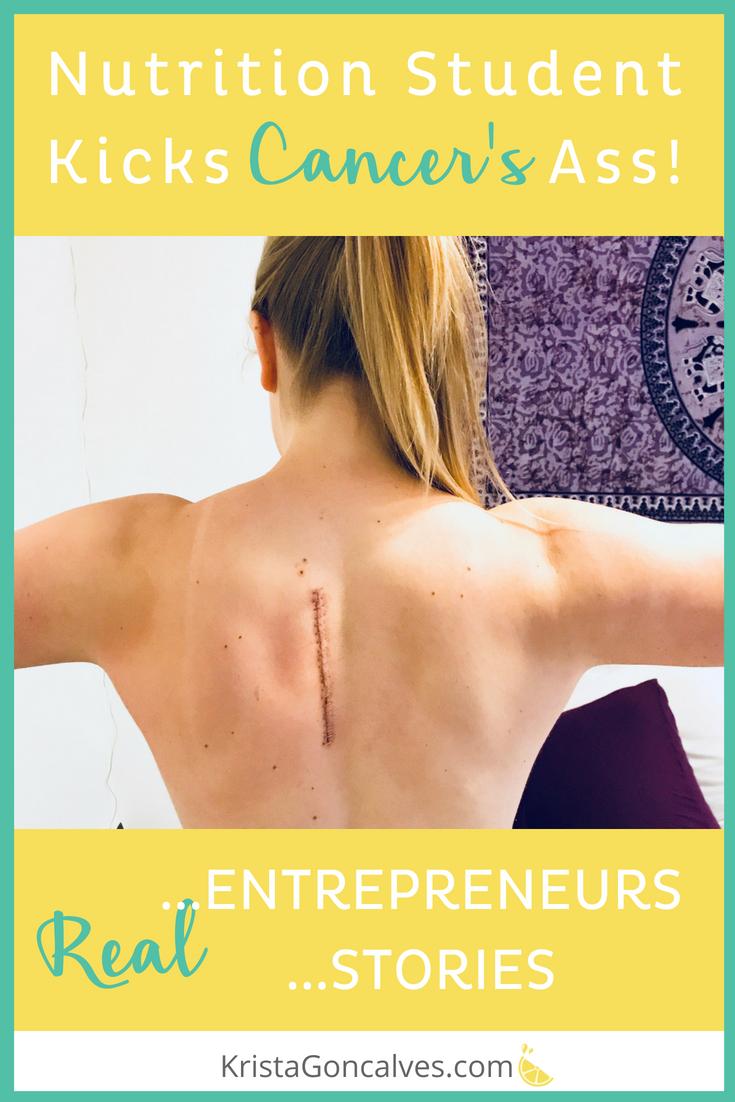 [Real Entrepreneurs, Real Stories] Ellen Hall | Nutrition Student Battles Cancer - Kicks Ass!