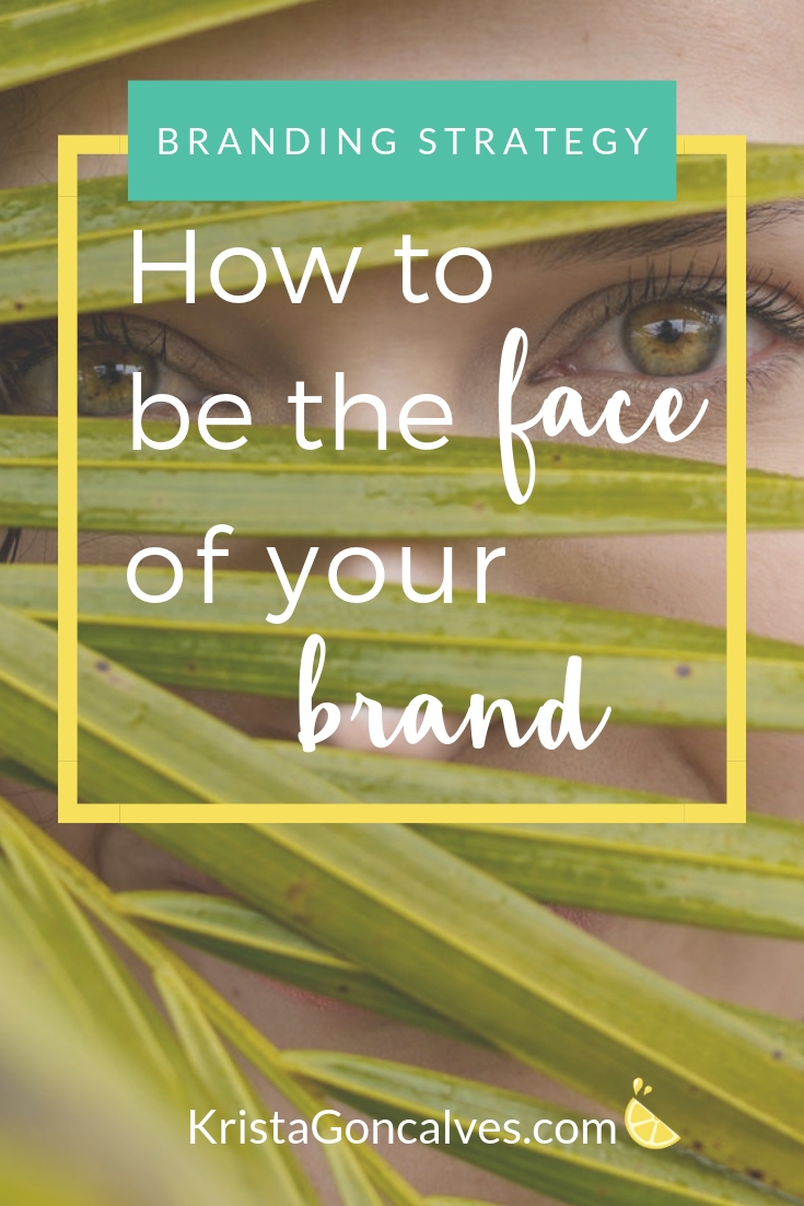 How to be the face of your brand when you're terrified of the spotlight