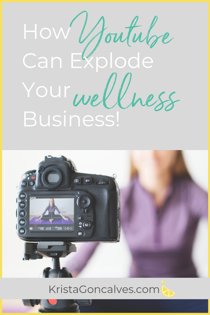 How Youtube can explode your wellness business | Making Lemonade with Krista Goncalves