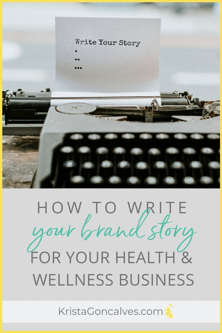 How to write your personal brand story | Making Lemonade with Krista Goncalves